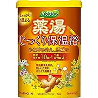バスクリン 薬湯じっくり保温浴入浴剤600g(医薬部外品)