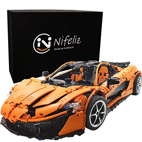 Nifeliz P1 MOCスポーツカー テクニック知育玩具 ブロック おもちゃ 男の子 スケール1:8 レースカーモデル(3307 pcs)