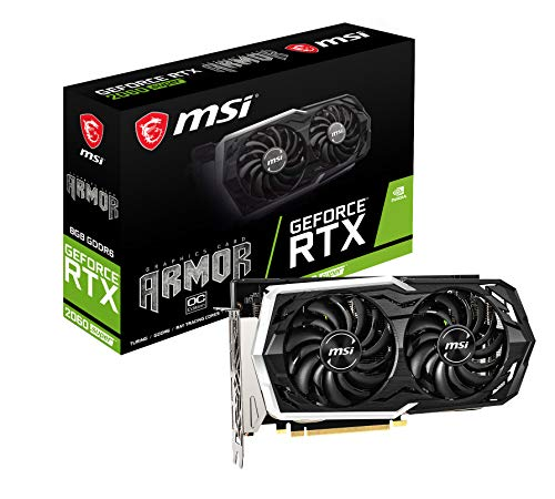 MSI GeForce RTX 2060 SUPER ARMOR OC グラフィックスボード VD7031