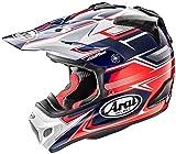 アライ(ARAI) バイクヘルメット フルフェイス V-CROSS4 SLY (V-クロス4 スライ) 赤/ネイビー 61cm~62cm V-CROSS4