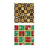 タカ印 ラッピングペーパー 49-9502 ハロウィン&クリスマスB 10枚巻ロール