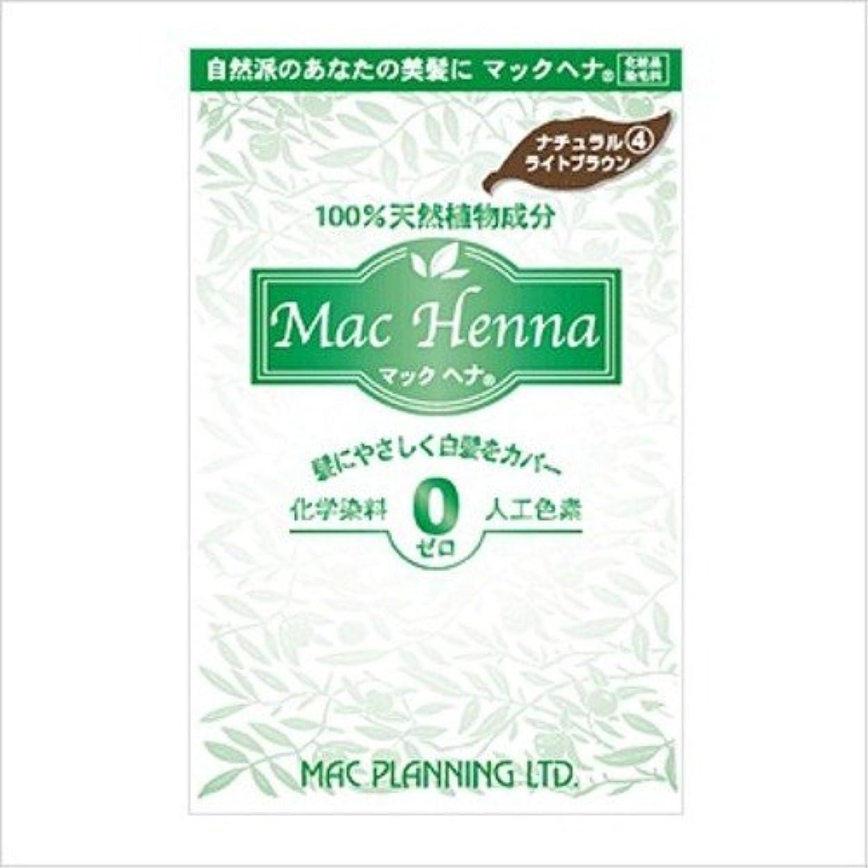 マックプランニング マックヘナ ハーバルヘアートリートメント ナチュラルライトブラウン 100g