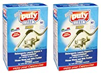 """asachimici : """" Puly Milk """"蒸気Wand and Milk Frother Cleaner–4バイアルズ0.85流体オンス( 25ml )各( Pack of 2) [ Italian Import ]"""