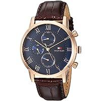 Tommy Hilfiger Men's 1791399 Year Round Analog Quartz Brown Watch