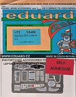 EDUSS468 1:72 Eduard Colour Zoom Photo Etch Interior Detail Set for the 1:72 CyberHobby Sea King AEW.2 Helicopter model kit