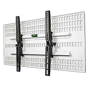 STARPLATINUM キズが目立たない 37-47インチ対応 液晶テレビ壁掛け金具 TVセッター壁美人 TI200 Mサイズ ホワイト【液晶テレビ壁掛け】