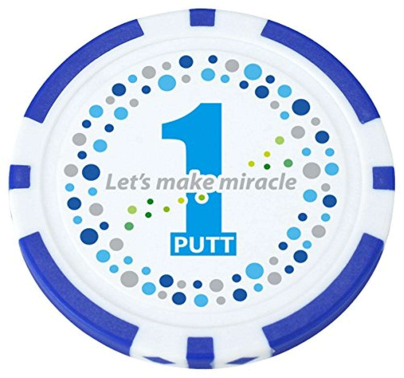 賢いオプショナルランクライト(LITE) X768 ポーカーチップ ワンパットブルー ユニセックス X768(060) ワンパットブルー