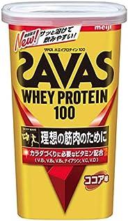明治 ザバス(SAVAS) ホエイプロテイン100 ココア味【14食分】 294g