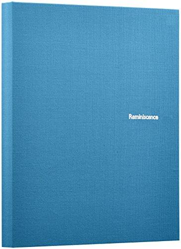 SEKISEI (セキセイ) アルバム ポケット ハーパーハウス レミニッセンス ミニポケットアルバム Lサイズ 80枚収容 L 51~100枚 布 ブルー XP-80M B0013DEDN8 1枚目