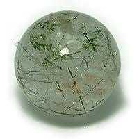 g3-1537D  1粒売り 12.5mm A ブラックルチルクォーツ 黒針水晶 天然石 パワーストーン