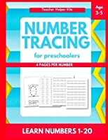 Number Tracing: Number tracing books for kids ages 3-5Number tracing workbookNumber Writing Practice BookNumber Tracing Book for Preschoolers [並行輸入品]