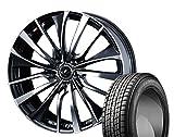 [235/55R20]GOODYEAR / ICE NAVI SUV スタッドレス [2/-][Weds / LEONIS VT (PBMC) 20インチ] スタッドレス&ホイール4本セット ムラーノ(Z51系)