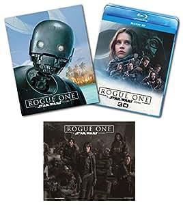 【Amazon.co.jp限定】ローグ・ワン/スター・ウォーズ・ストーリー MovieNEXプラス3D:オンライン初回限定商品 [ブルーレイ3D+ブルーレイ+DVD+デジタルコピー(クラウド対応)+MovieNEXワールド] [Blu-ray](オリジナルステッカー付)