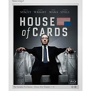 ハウス・オブ・カード 野望の階段 SEASON 1 Blu-ray Complete Package (デヴィッド・フィンチャー完全監修パッケージ仕様)
