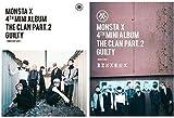 Monsta X 4thミニアルバム - The Clan 2.5 Part. 2 Guilty (ランダムバージョン)