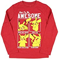 Seven Times Six Pokemon Boy's How to Be Awesome Long Sleeve T-Shirt