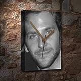 BRADLEY COOPER / ブラッドリークーパー - キャンバスクロック(A5 - アーティストによって署名されました) #js002