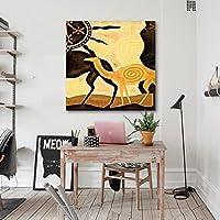 "3D キャメル 092 ウォールステッカー ビニール 壁の壁画 印刷 デカール アート| 自己粘着性 大 ウォールステッカー AJ WALLPAPER JP Zoe (【31.5"" x 31.5""】80x80cm(WxH), ビニール(接着剤なし&取り外し可能))"