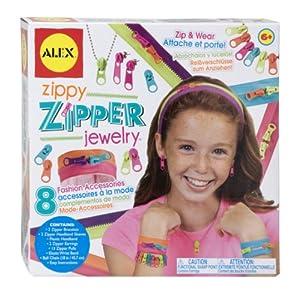 Alex ToysフルカスタムWear Zippy Zipperジュエリー