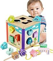 let's make 庫存處分 拼圖盒 變形游戲 立體拼圖 木制 玩具 益智玩具 柔軟玩具 培養想象力的玩具 早期開發 兒童 寶寶 生日 出生賀