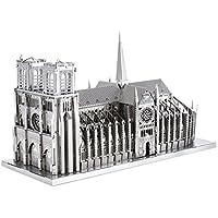 メタリックナノパズル プレミアムシリーズ 世界遺産 ノートルダム大聖堂