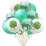 amleso 15個 ラテックスバルーン コンペティ 結婚式 誕生日パーティー 5色 - 5