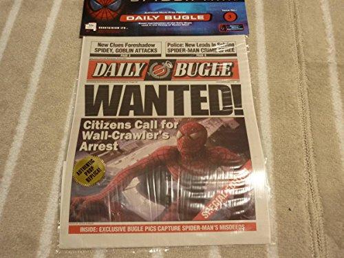 サムライミ 版 スパイダーマン プロップ レプリカ 新聞 デイリービューグル No.3 アベンジャーズ インフィニティウォー