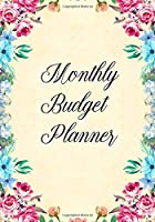 Monthly Budget Planner: Expense Log for Business or Personal Use | Tracking Expenses for Budgeting/Savings Goals | Teal Floral Design
