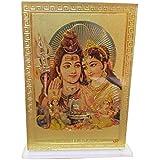 Galaxy Karmaa Lord Shiva and Parvati Photo for Car Dashboard