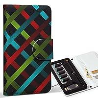 スマコレ ploom TECH プルームテック 専用 レザーケース 手帳型 タバコ ケース カバー 合皮 ケース カバー 収納 プルームケース デザイン 革 クール チェック 模様 006192