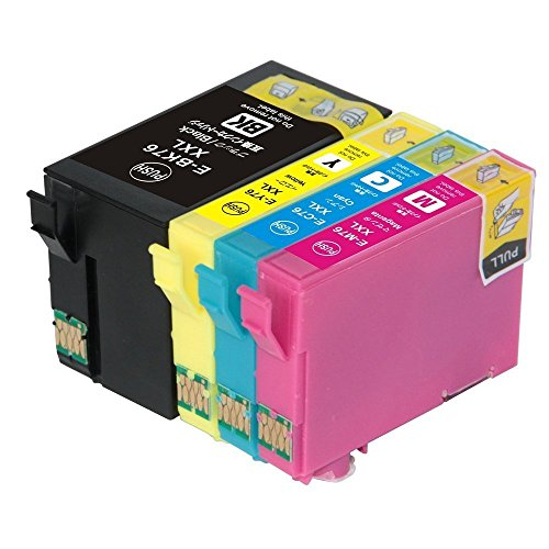 『EPSON エプソン IC4CL76/IC76(BK/C/M/Y) 4色セット 互換インクカートリッジ 対応 ICチップ(残量表示機能)付き (4色セット)』のトップ画像