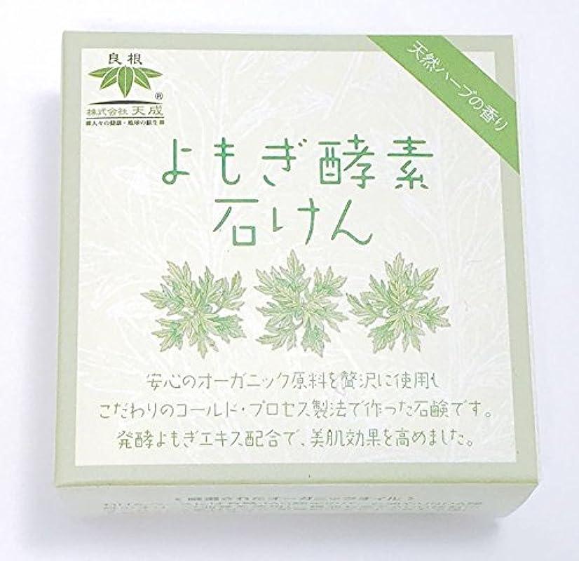 ピカソスチュアート島カヌーよもぎ酵素石けん(天然ハーブの香り)