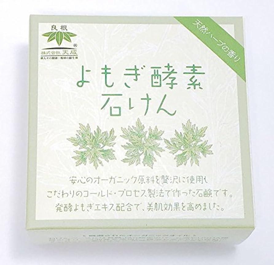 故意のせっかち研磨よもぎ酵素石けん(天然ハーブの香り)