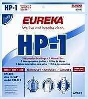 Eureka 62423-12 Eureka HP-1 フィルターバッグ 3個入り