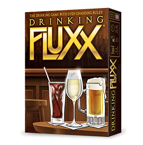 Fluxx Drinking Single Deck Card Game
