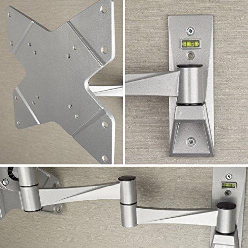 STARPLATINUM 液晶テレビ 壁掛け 金具 高品質 23-42インチ対応 TVセッターFS NA112 Sサイズ シルバー 【 壁掛けテレビ 】
