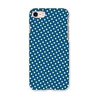 igcase iphone7 iphone アイフォーン 専用ハードケース スマホカバー カバー ケース pc ハードケース 008249 チェック・ボーダー 水玉 青 ブルー 模様
