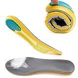 MUCHER インソール 中敷き  スポーツインソール インソールスポーツ スニーカーインナソール 靴インソール アーチサポート サイズ調整可能  通気性 衝撃吸収 男女兼用 (M:38~43(23.5~27.5cm))