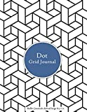 Dot Grid Journal - Bullet Journals dotted large 8.5 x 11: Graph Dotted Paper sketchbook Letter size 200 pages | Graphing Pad Journal with Page numbers for |writing |drawing |note taking | sketch art gift  (Volumn 8)