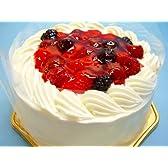 生クリームいちごデコレーションケーキ 6号冷凍販売バースデーケーキ【バースデーケーキ 誕生日ケーキ デコ】::146