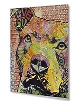 Thoughtful Pit Bullこの年Love 2013Part 1 11x14 Hardwood 008-014-013-UVYFV