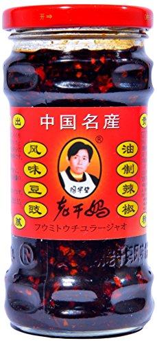 老干媽 風味豆鼓油制辣椒(豆鼓ラー油) 280g