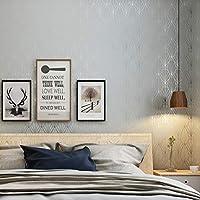シンプルモダン壁紙Abstract Flower Nordic、ベッドルームスタジオリビングルームテレビの背景不織布、ライトグレーの壁紙400(W)x 250cm(H)