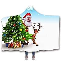 クリスマスブランケットは、毛布をスローブランケットソフト暖かい毛布ケープマントスロー子供の大人のためのラップ,3,S(1.3Mx1.5M)