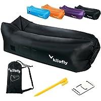 kilofly Inflatable Lounger防水ポータブルエアソファーベッド