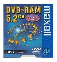 5.2GB カートリッジ式DVD-RAMメディア maxell VD-RAM52F.B1P