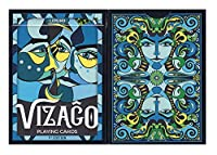 Vizago Playing Cards LPCC – ブルー&レッド