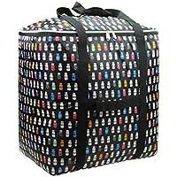 (Baoxinjp) 布団 収納ケース 人気 収納 カバン 引越し 梱包用 ダンボール 大容量 130L ボストンバッグ スタイリスト バッグ #006