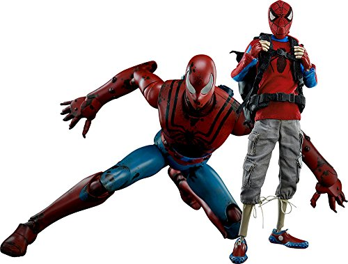 MARVEL PETER PARKER / SPIDER-MAN - CLASSIC EDITION 1/6스케일 ABS&POM&PVC제 도장필 가동 피규어-- (2017-04-30)