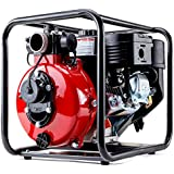 Warton PRP-02P Series II Pro-Series 8HP 235cc 2 Inch Petrol High Pressure Three Outlet Water Pump